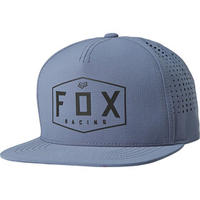 Fox Crest Snapback Cap Heren, blue steel